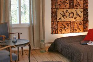 Afrika-Zimmer in der Rübenburg