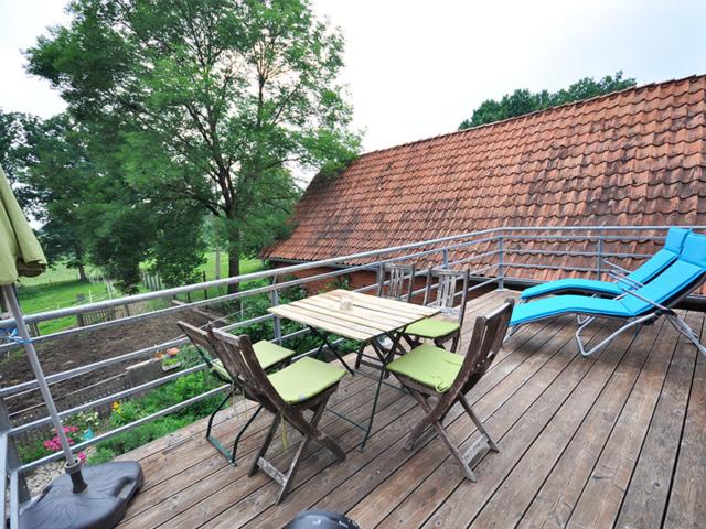 Terrasse der Villa Rübenburg.