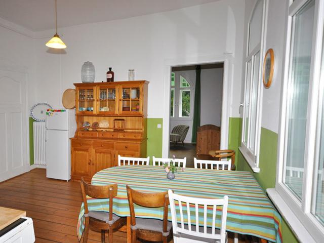 Die Küche der Villa Rübenburg.